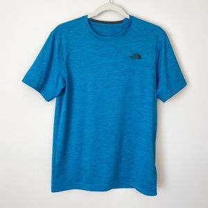 The North Face Longline Flashdry Crew In Blue